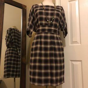 3.1 Phillip Lim Plaid blouson Dress